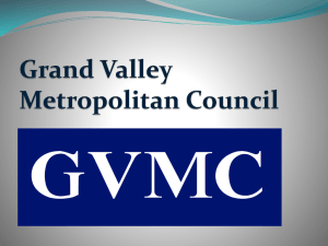 to view presentation. - Grand Valley Metropolitan Council