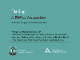 Dating-A-Biblical-Perspective-FM-Format - Seventh