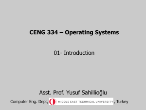 Intro - METU Computer Engineering