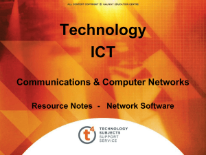 Network Software - t4 - Technology Subjects Support Service
