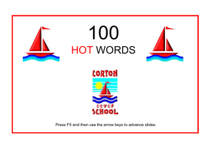 100 THRASS HOTWORDS® - ik