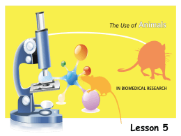 Lesson - Foundation for Biomedical Research