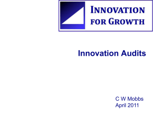 Innovation Innovation Audits