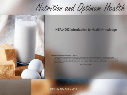 HEAL4002_NUTRITION_AND_OPTIMUM_HEALTH