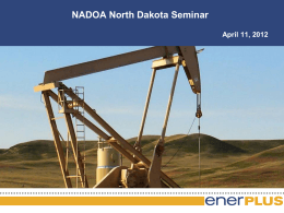 Presentation - Hyraulic Fracturing and Horizontal Drilling
