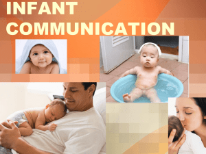 INFANT COMMUNICATION