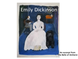 Introducing Emily Dickinson