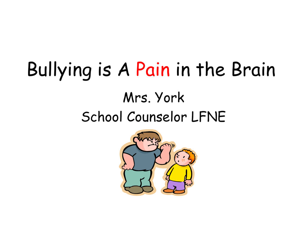 bullying powerpoint.pps