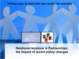 d`Reen Struthers - Relational tensions in Partnerships