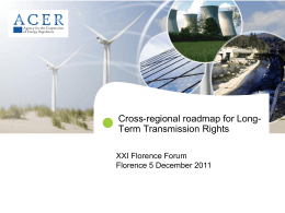 Final Version Cross-Regional roadmap LT - ACER
