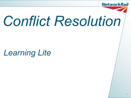 Conflict Resolution (PPT 1.00 MB)
