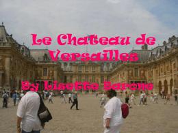 Le Chateau de Versailles