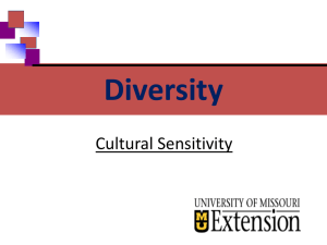 Diversity - University of Missouri Extension