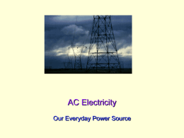 AC Electricity - UCSD Department of Physics