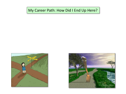 My Career Path