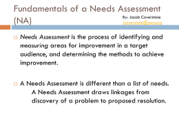 Fundamentals-of-a-Needs-Assessment