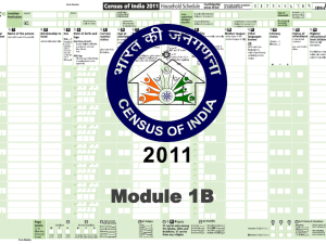 Module-1B - Census of India Website