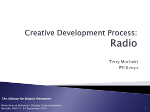 18.Creative development process radio