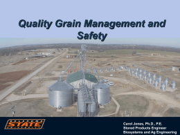 Grain Bin Safety Symposium presentation