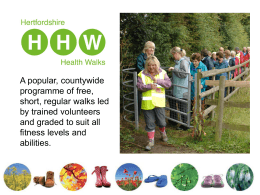 Hertfordshire Health Walks Dacorum GP screens Jan
