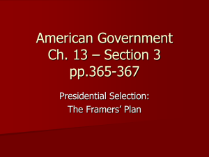 American Government Ch. 13 – Section 3 pp.365-367