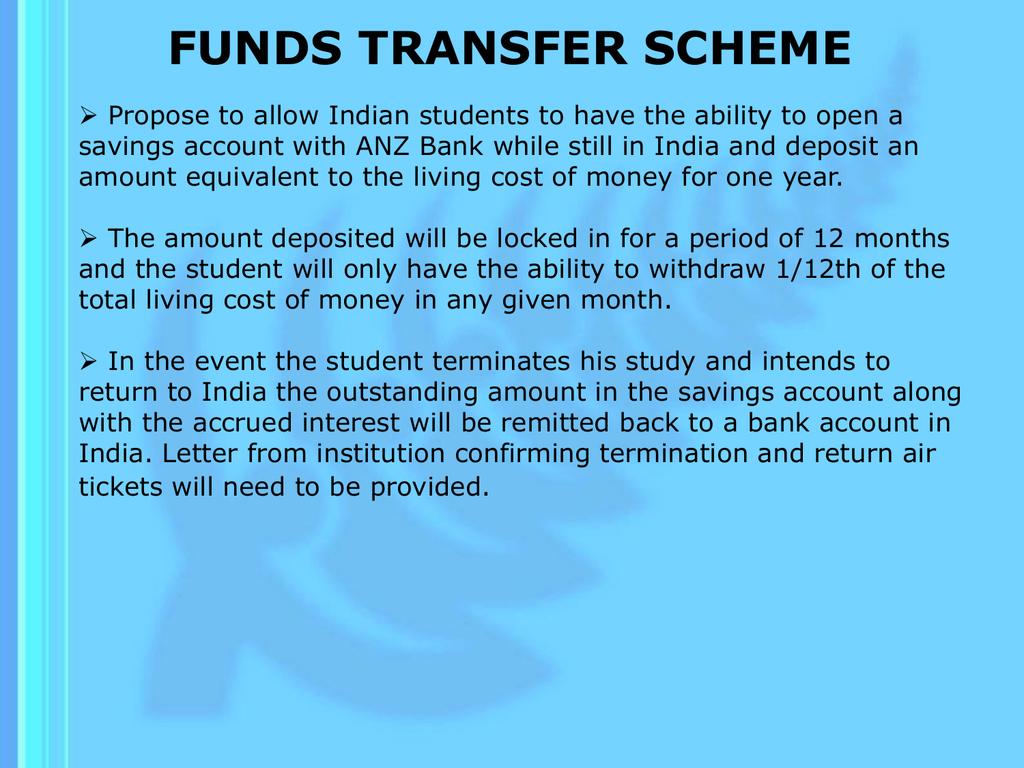 funds transfer scheme - Immigration New Zealand