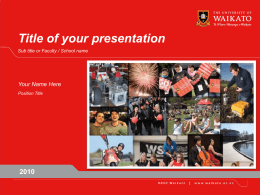 To illustrate your presentation