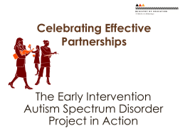 Celebrating Effective Partnerships