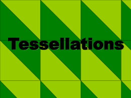Tessellation Powerpoint