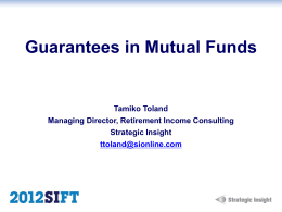 Guarantees in Mutual Funds