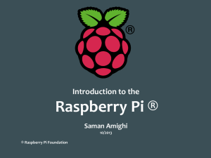 Data Logger using Raspberry Pi