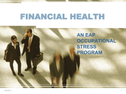 Financial Health ()
