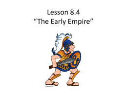 "Lesson 4.1 ""The Early Greeks"""