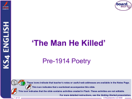 The Man He Killed` - WordPress.com