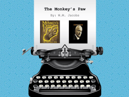 Monkey`s Paw Notes
