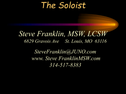 The Soloist-Powerpoint
