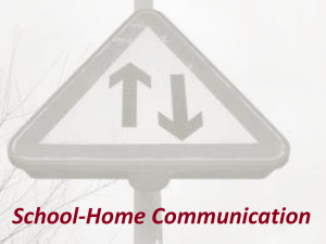 Why is School-Home Communication Important?
