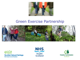 PA-Green Exercise Partnership PP