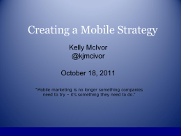 Mobile Strategy_Final
