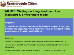 Pengjun Zhao - New Zealand Centre for Sustainable Cities