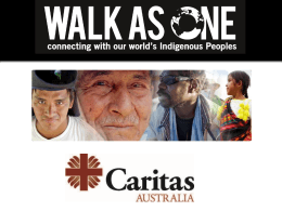 Walk As - Caritas Australia