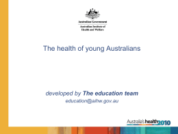 School presentation young peoples health