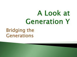 A Look at Generation X