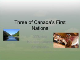 Canadas First Nations