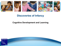 Discoveries of Infancy