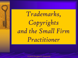 What are Trademarks & Copyrights