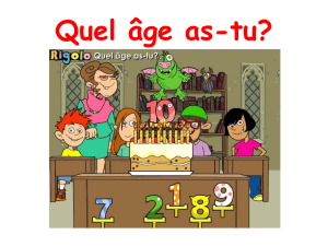 Quel âge as-tu? - rachaks1french