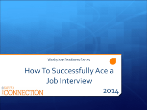 How To Successfully Ace a Job Interview