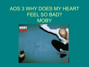 AOS 3 WHY DOES MY HEART FEEL SO BAD? MOBY