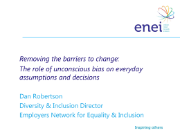 Removing the Barriers to Change